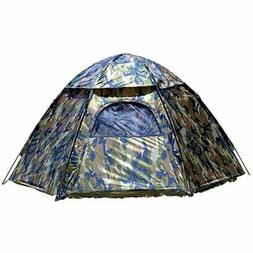 01113 Hide-A-Way Camouflage Hexagon Dome Tent Tents Sports ""