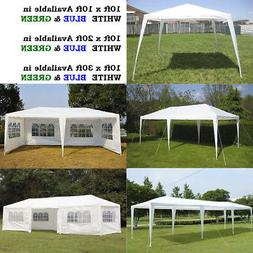 10' 20' 30' Canopy Party Wedding Outdoor Tent Gazebo Pavilio