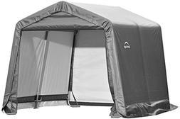 ShelterLogic 6' x 6' Shed-in-a-Box All Season Steel Metal Pe