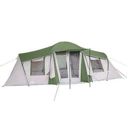 Ozark Trail 10-Person 3-Room Vacation Tent with Shade Awning