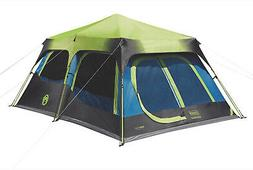 Coleman 10-Person Dark Room Instant Cabin Tent with Rainfly,