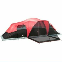 Ozark Trail 10 Person Family Camping Large Tent 3 Room Outdo
