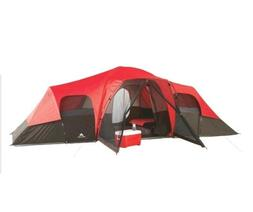 Ozark Trail 10-Person Family Tent Camping Hiking Fishing Sol