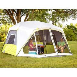 CORE 10 Person Instant Cabin Tent with Screen Room - 14.5' x