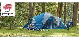 Ozark Trail 10-Person Modified Dome Tent with Screen Porch W