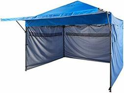 AmazonBasics 10' x 10' Pop-Up Canopy with sidewalls, Blue