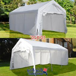 10'x20' Portable Garage Carport Car Shelter Outdoor Canopy P