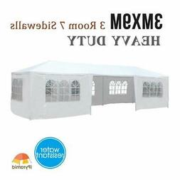 10'x30' Canopy Party Wedding Tent Gazebo Pavilion Outdoor Pa