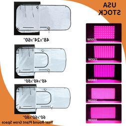 1000W/1500W/1800W/2000W/3000W Led Grow Light Kit Hydroponics