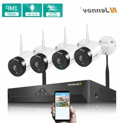 1080P HD IP Wireless Security Camera System WiFi Audio Outdo