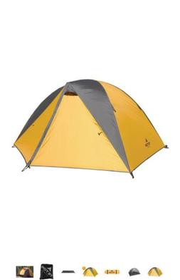 TETON Sports 1095 Mountain Ultra 2 Person Backpacking Tent M