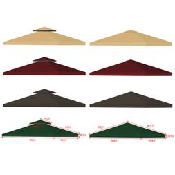 10x10' Outdoor Gazebo Top Tent Cover Pop Up Sunshade Canopy