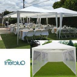 Quictent Wedding Party Tent Patio Gazebo Outdoor 10x30 White