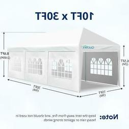 Quictent Gazebo White Party Tent Outdoor Wedding Event Canop