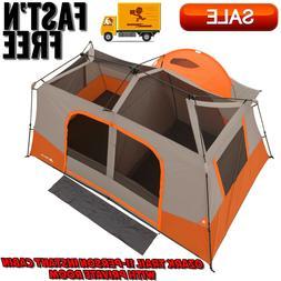 Ozark Trail 11-Person Instant Cabin w/ Private Room, Family