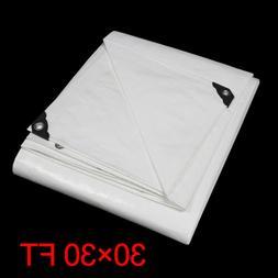12 mil 30x 30FT Heavy Duty Tarp Canopy Polyethylene Waterpro