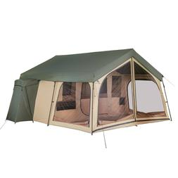Ozark Trail 14 Person Spring Lodge Cabin Camping Tent - Bran