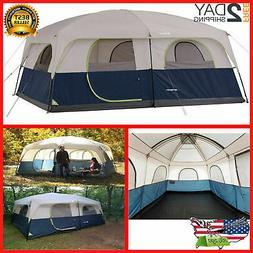 Ozark Trail 14' x 10' Family Cabin Tent 10 Person Outdoor Ca