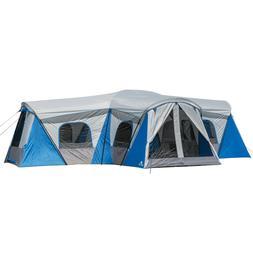16 Person Family Cabin Tent Movie Screen Loft Hammock Duffel