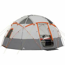 Ozark Trail 16' x 16' Sphere Tent Sleeps 12 Portable Outdoor