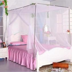 1PC Portable Folding Mesh Bed Canopy Dome Tent Mosquito Net