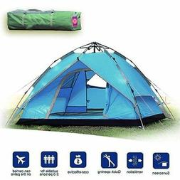 2-3 Person Camping Tent 4 Season Outdoor Backpacking Automat