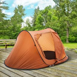 2-3 Person Camping Tent Automatic Pop Up Quick Shelter Outdo