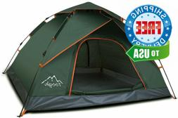 Toogh 2-3 Person Camping Tent Backpacking Automatic Instant