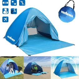 2-3 Person Pop Up Beach Tent Instant Sun Shelter Quick Caban