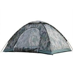 2-4 Person Waterproof Outdoor Camping 4 Season Folding Tent