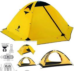 Geertop 2-Person 4-Season Backpacking Tent for Camping Hikin