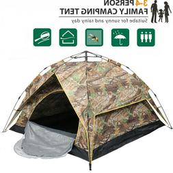 2 Person Automatic Pop Up Outdoor Hiking Camping Tent Waterp