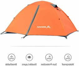 BISINNA 2 Person Camping Tent Lightweight Backpacking Tent W