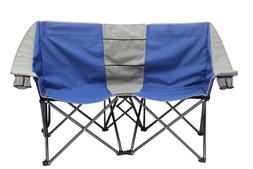 2 Person Conversation Chair With Cup Holder For Camping Outd