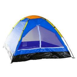 Happy Camper 2-Person Dome Tent, Blue