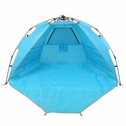 yodo 2 Person Easy Up Beach Tent Sun Shelter Quick Cabana wi