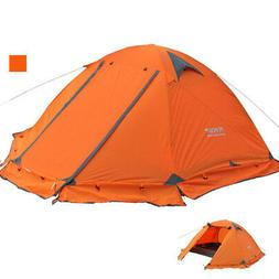 2 Person Portable Folding Tent 4 Season Tent Outdoor Camping