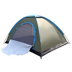 WINMI 2 Person Tent Folding Waterproof Tent Camping Instant