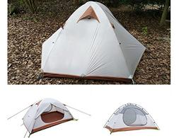 Luxe Tempo 2 Person Ultralight Tents for Camping 3.8LB with