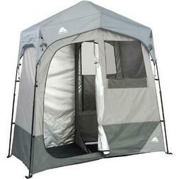 Ozark Trail 2-Room Camping Instant Shower/Utility Shelter, O