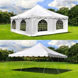 20x20' Pole Tent Waterproof Commercial C