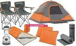 22-Piece Camping Combo Tents Chair Sleep Sky Sport Hiking Fa