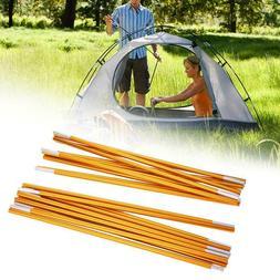 2Pcs Aluminum Alloy Outdoor Tent Poles Rods Camping Travel R