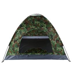3-4 Person Camouflage Camping Tent Outdoor Sport Fishing Sin