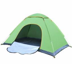 3 4 person camping tent double layer