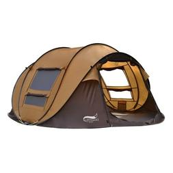 3-4 Person Camping Tent Outdoor Automatic Light Weight Insta
