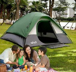 3-4 Person Camping Dome Tent  Waterproof Traveling Hiking Ou
