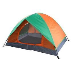 3-4 Person Family Camping Waterproof Tent Camo Fast Install