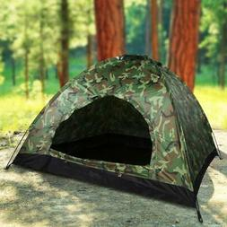 1/2/3 Person Outdoor Camping Tent UV Protection Waterproof H