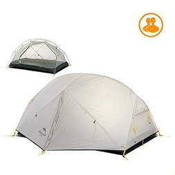 Naturehike 3 Seasons 2 Person Tent Double-layer Camping Wate